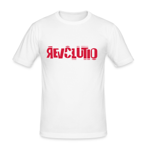 REVOLUTIO (Red) - Männer Slim Fit T-Shirt