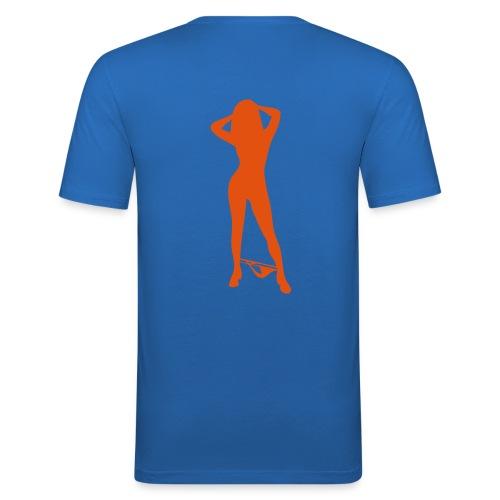 Life is - Miesten tyköistuva t-paita