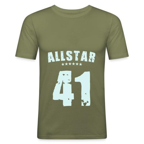 Allstar olive - T-shirt près du corps Homme