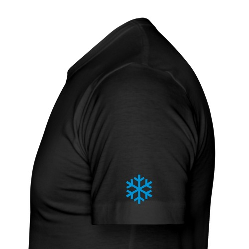 Snowman Comfort T-Shirt - Men's Slim Fit T-Shirt