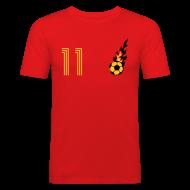 T-Shirts ~ Männer Slim Fit T-Shirt ~ TOR NADO 11 (Home - Gold)