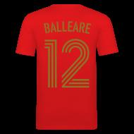 T-Shirts ~ Männer Slim Fit T-Shirt ~ BALLEARE 12 (Home - Gold)
