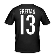 T-Shirts ~ Männer Slim Fit T-Shirt ~ FREITAG 13 (Away)