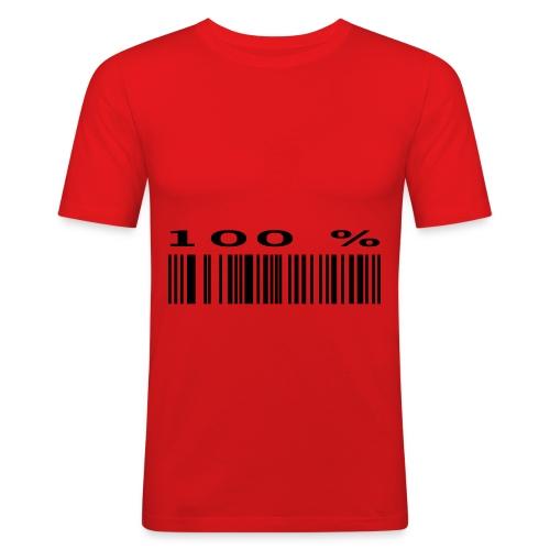 100% - Männer Slim Fit T-Shirt