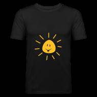 T-shirts ~ slim fit T-shirt ~ Sun smiling