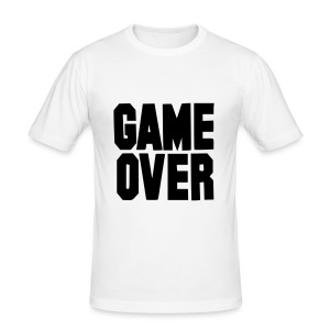 T-shirt game over - Tee shirt près du corps Homme