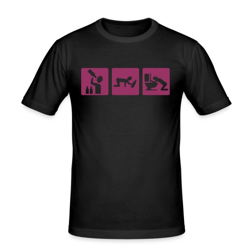 alcool - T-shirt près du corps Homme
