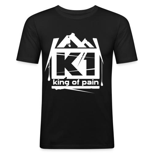 King of pain (Black, SlimFit) - slim fit T-shirt