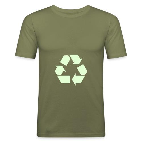 Recycle 3 - Slim Fit T-skjorte for menn