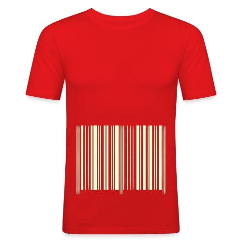 Strekkode 2 - Slim Fit T-skjorte for menn