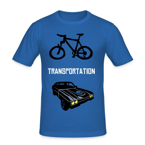 TRANSPORTATION - Men's Slim Fit T-Shirt