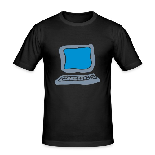 Internet ? - T-shirt près du corps Homme