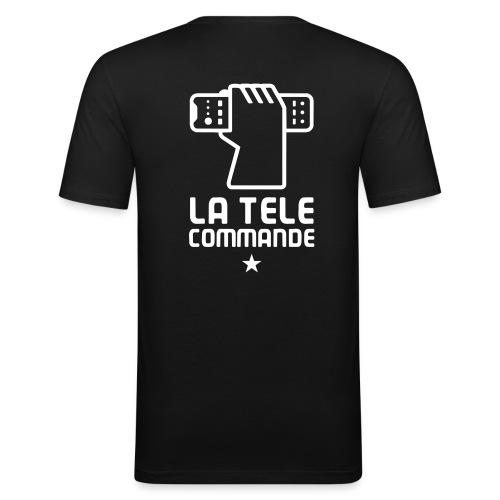 La TV Commande - T-shirt près du corps Homme