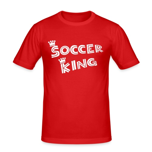 Soccerking - Männer Slim Fit T-Shirt