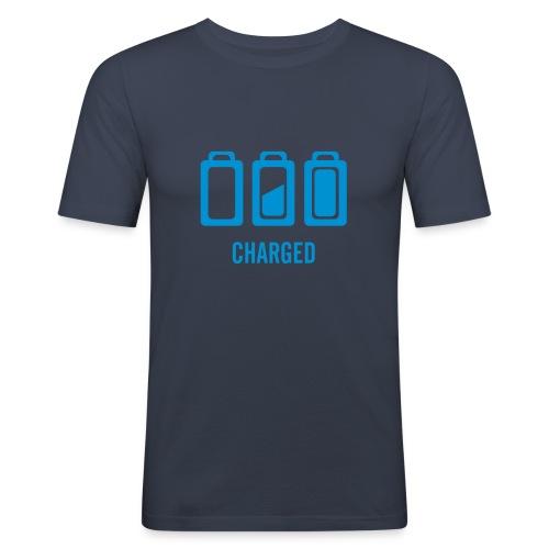 Batterie - Männer Slim Fit T-Shirt