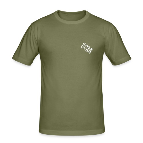 Game-over - T-shirt près du corps Homme