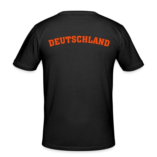 Deutschland-Shirt - Männer Slim Fit T-Shirt