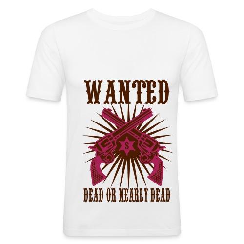 Wnated ? - T-shirt près du corps Homme
