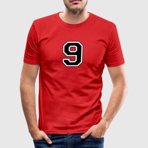 ... 6 - 9   - Slim Fit T-shirt herr