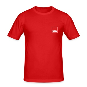 SPD Slim Fit - Männer Slim Fit T-Shirt