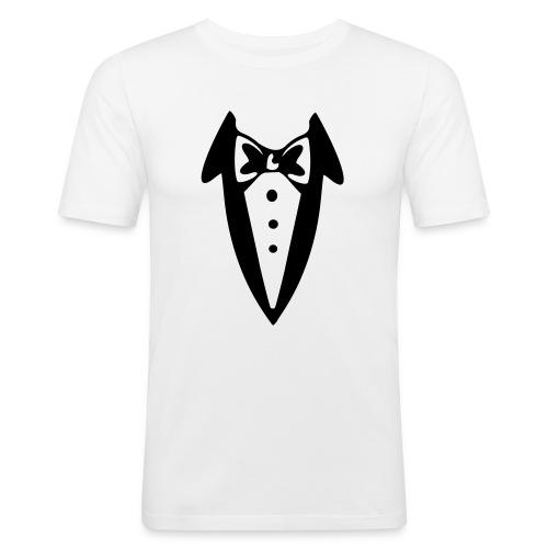 Cheapman's Tuxedo - Men's Slim Fit T-Shirt