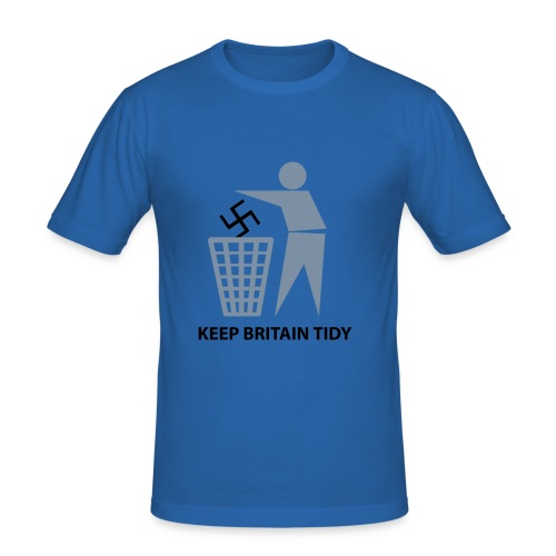 Keep Britain tidy - Men's Slim Fit T-Shirt