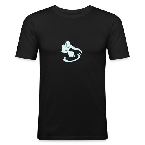 Mare Records DJ Freizeit Shirt/ Herr - Männer Slim Fit T-Shirt