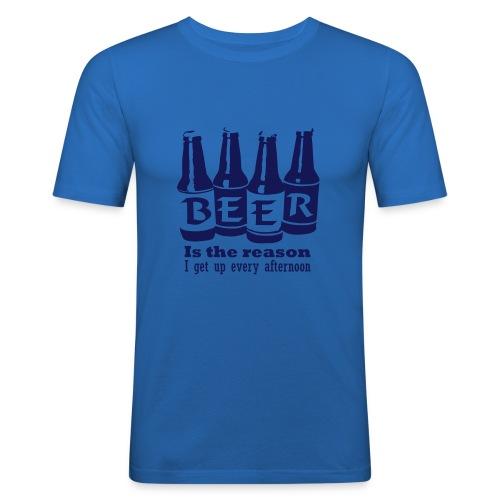 Beer - Männer Slim Fit T-Shirt