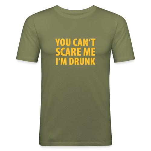 Can't Scare Me - Männer Slim Fit T-Shirt
