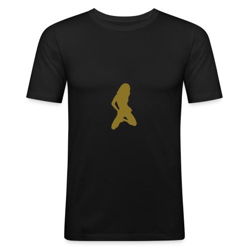 Vanessa - Männer Slim Fit T-Shirt