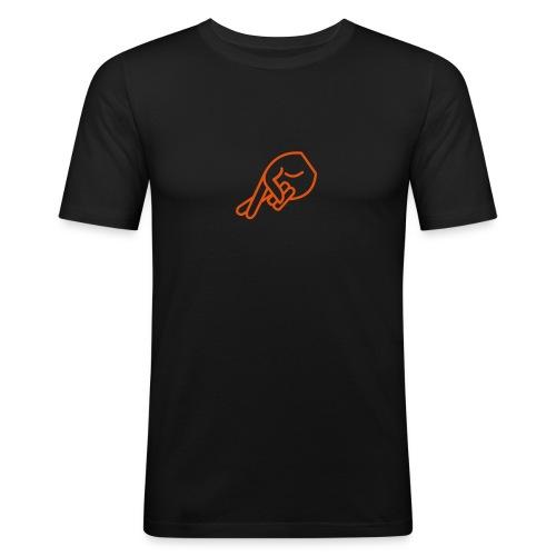 Lie - Männer Slim Fit T-Shirt