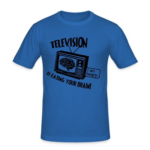 Television - Slim Fit T-skjorte for menn