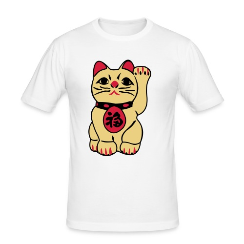 asian miauw - slim fit T-shirt