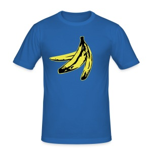 Banana Shirt - Männer Slim Fit T-Shirt