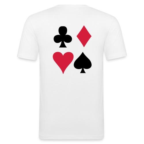 Poker Shirt - T-shirt près du corps Homme