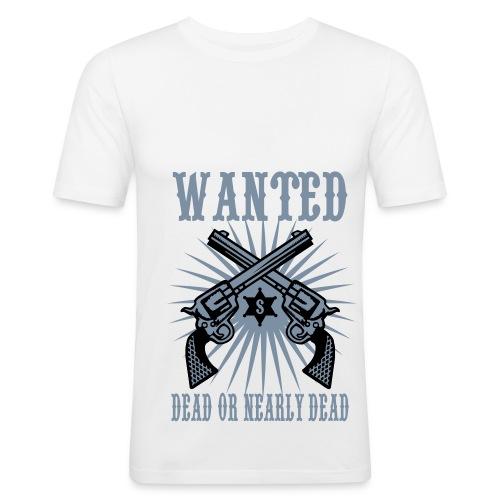 wanted - T-shirt près du corps Homme