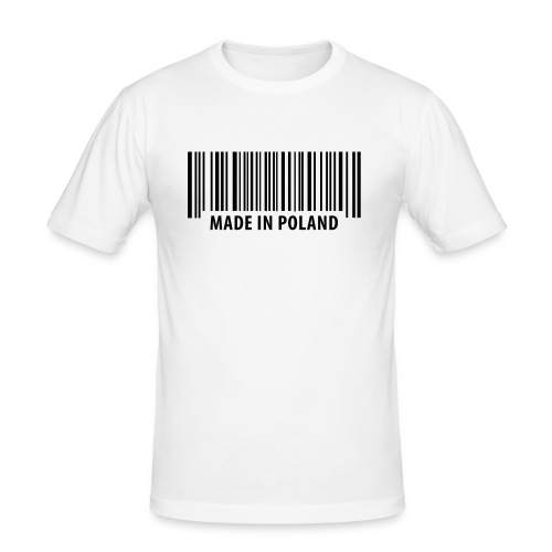 Barcode t-shirt - Men's Slim Fit T-Shirt