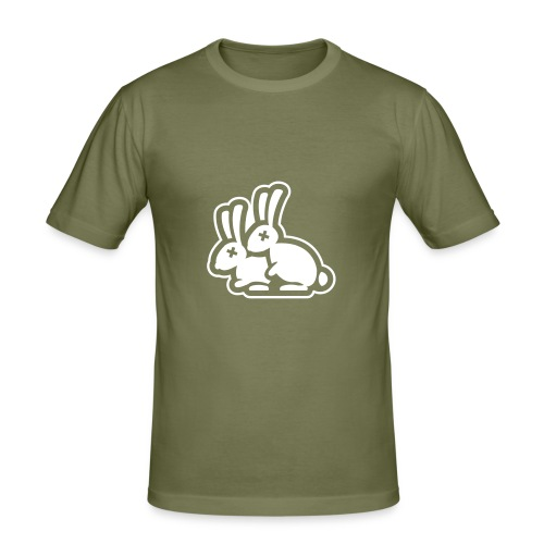 Hot Rabbit - T-shirt près du corps Homme