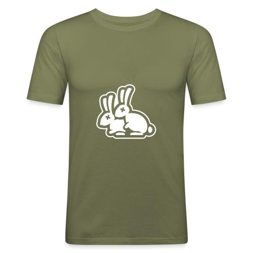 Hot Rabbit - T-shirt près du corps Homme
