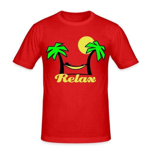 Summer Relax - Men's Slim Fit T-Shirt