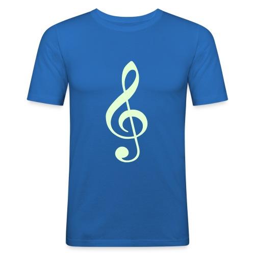 Treble T - Men's Slim Fit T-Shirt