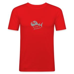 Kampf-Schwimmer T-Shirt - Männer Slim Fit T-Shirt