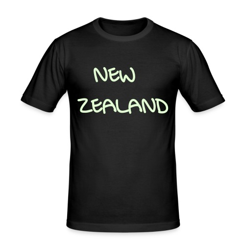 New Zealand - Männer Slim Fit T-Shirt