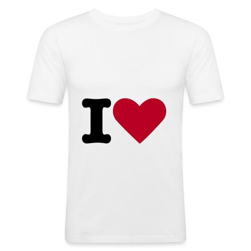 test-shirt - Männer Slim Fit T-Shirt