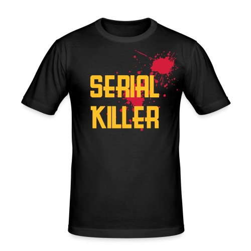 Serial Killer Slim - Men's Slim Fit T-Shirt