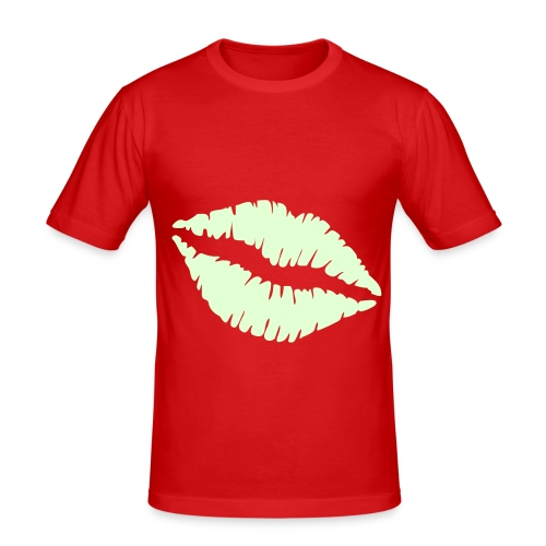 Kiss   - Men's Slim Fit T-Shirt