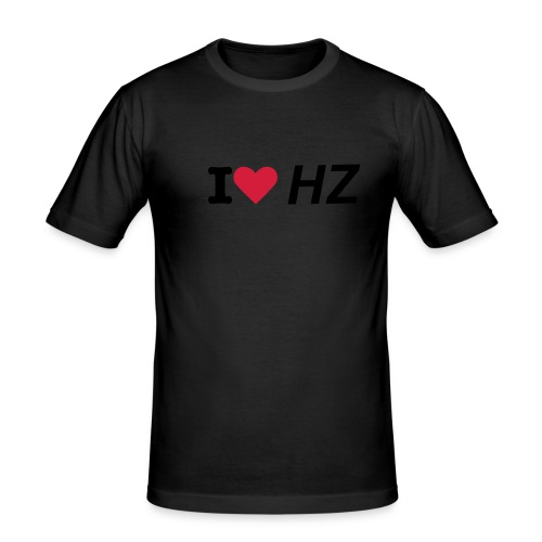 I Love HZ - Men's Slim Fit T-Shirt