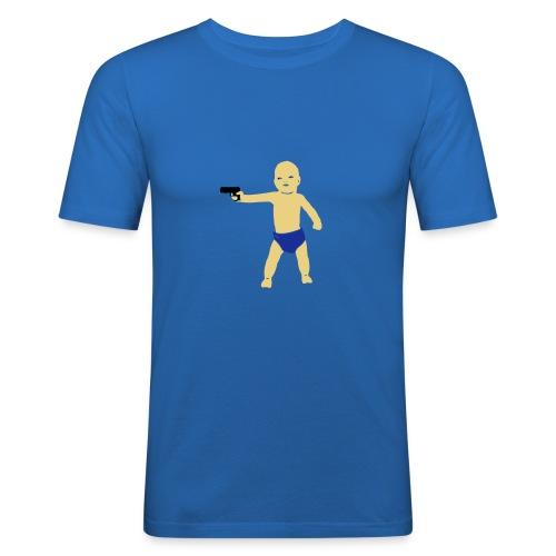 Toz Baby gun - T-shirt près du corps Homme