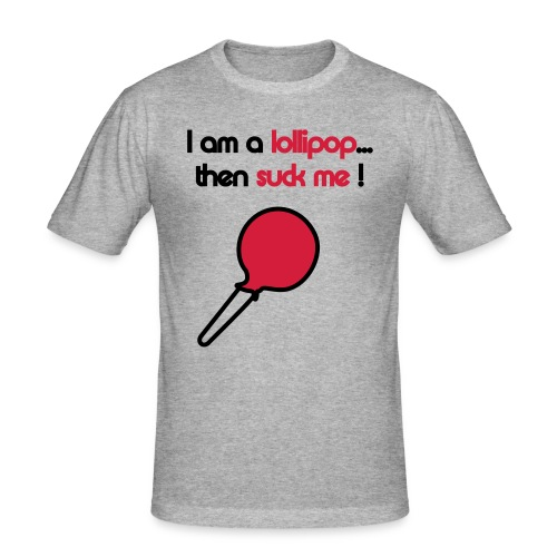 lollipop - Herre Slim Fit T-Shirt