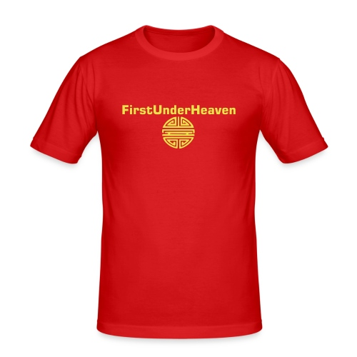 FIRST UNDER HEAVEN - Men's Slim Fit T-Shirt
